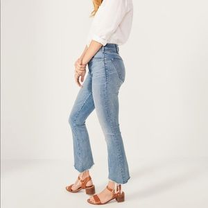 Abercrombie Women's High Rise Ankle Flare Jeans